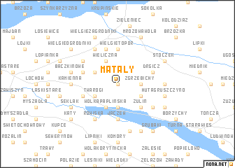map of Matały