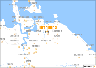 map of Matambag