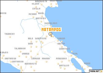 map of Matampog