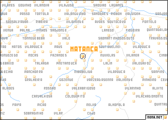 map of Matança