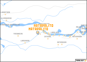 map of Mata Palito