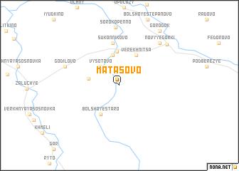 map of Matasovo