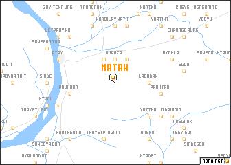 map of Mataw