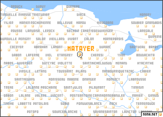 map of Matayer