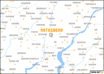 map of Mategbema