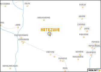 map of Matezuve