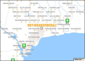 map of Matías Hernández