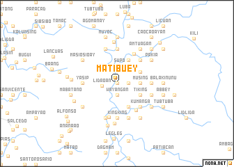 map of Matibuey