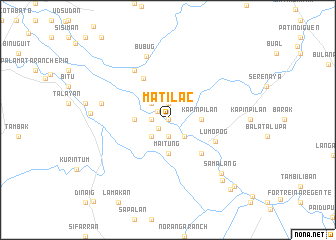 map of Matilac