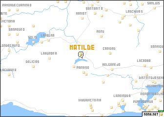 map of Matilde