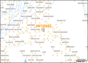 map of Matindeg