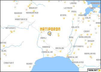 map of Matiporon