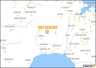 map of Matiporon