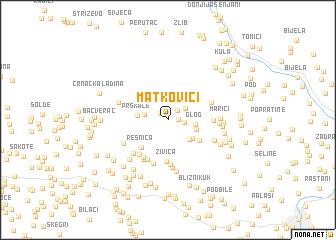 map of Matkovići