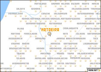 map of Matoeira