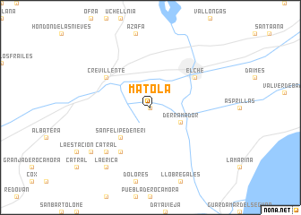 Matola Spain map nonanet