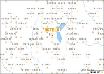 Matola Malawi map nonanet