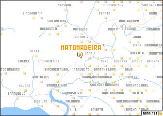 map of Mato Madeira