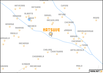 map of Matsuve