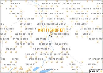 map of Mattighofen