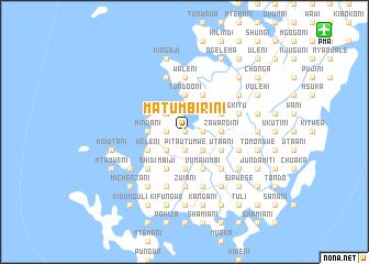 map of Matumbirini