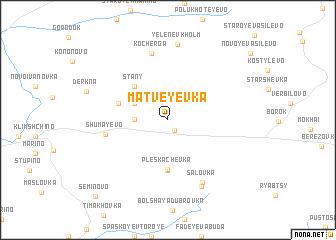 map of Matveyevka