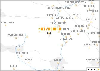 map of Matyushino