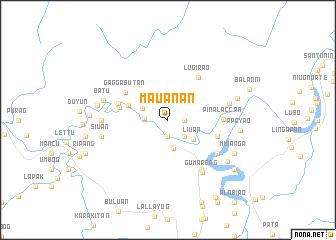 map of Mauanan