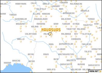 map of Mauasuas