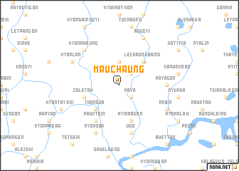 map of Ma-uchaung