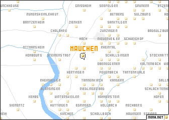 map of Mauchen