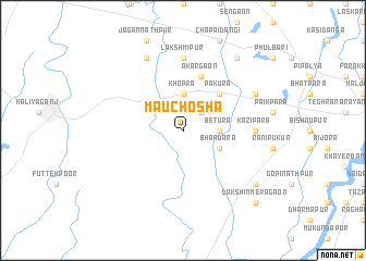 map of Mauchosha