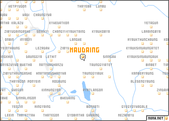 map of Ma-udaing
