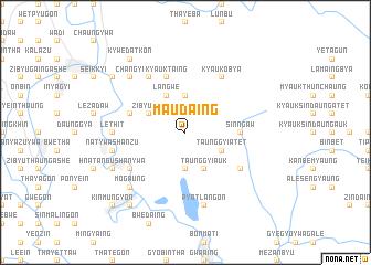 map of Ma-udaing