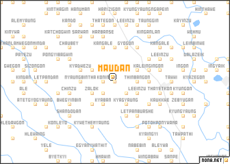 map of Ma-udan