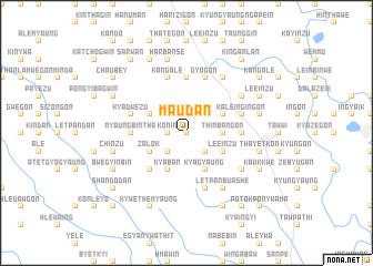map of Ma-udan