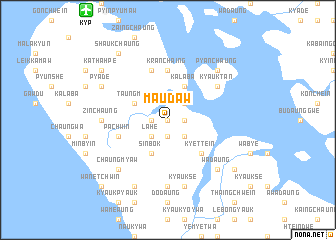 map of Ma-u-daw