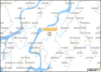 map of Ma-udôn