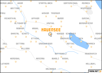 map of Mauensee