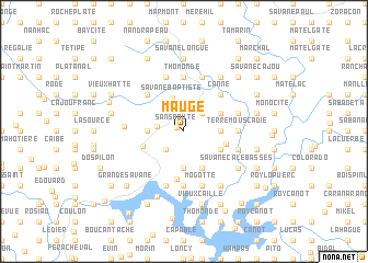 map of Maugé