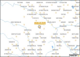 map of Ma-u-gon