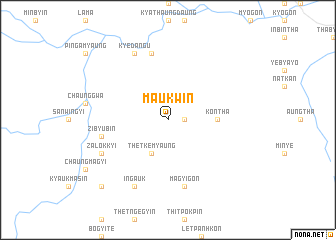 map of Ma-ukwin