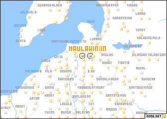 map of Maulawin