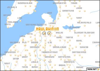 map of Maulawin