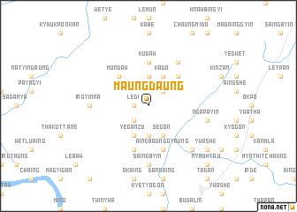 map of Maungdaung