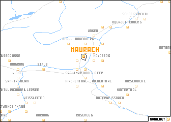 map of Maurach