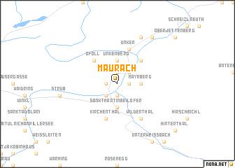 map of Maurach