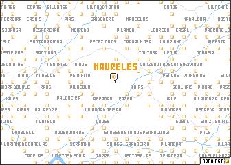 map of Maureles