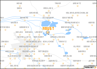 map of Maust