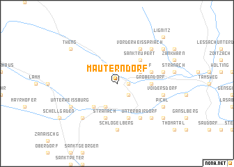 map of Mauterndorf